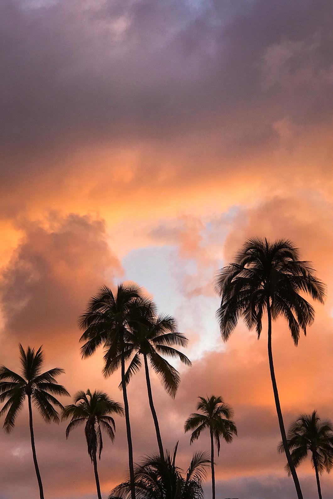 Les plus beaux coucher de soleil de Moorea