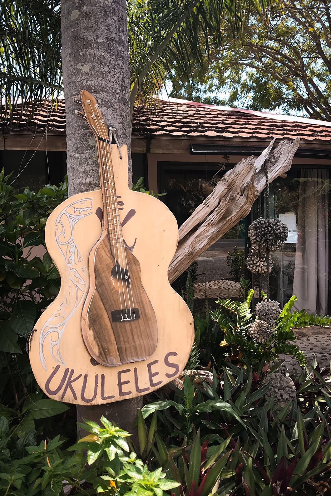 Atelier de Ukulélé à Moorea