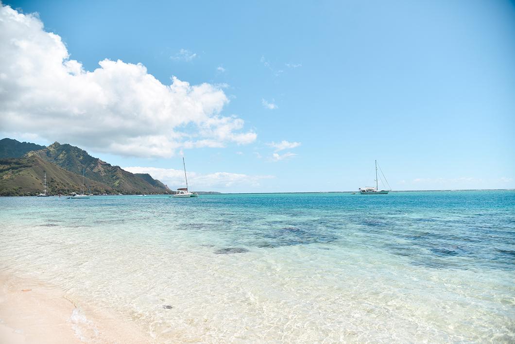 La plage de Ta'ahiamanu, Top des plages à Moorea