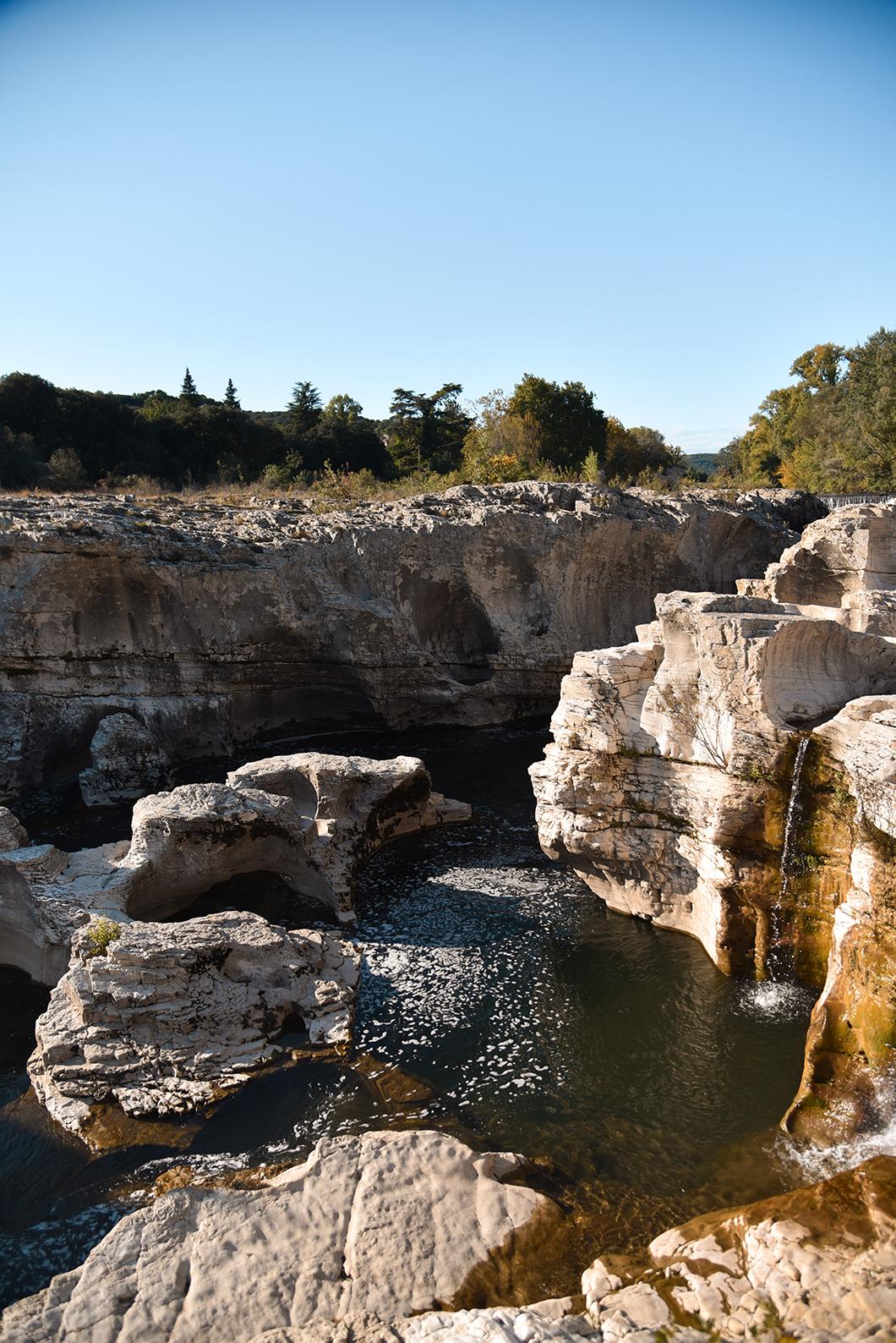 Activités incontournables en Provence Occitane, les Cascades du Sautadet