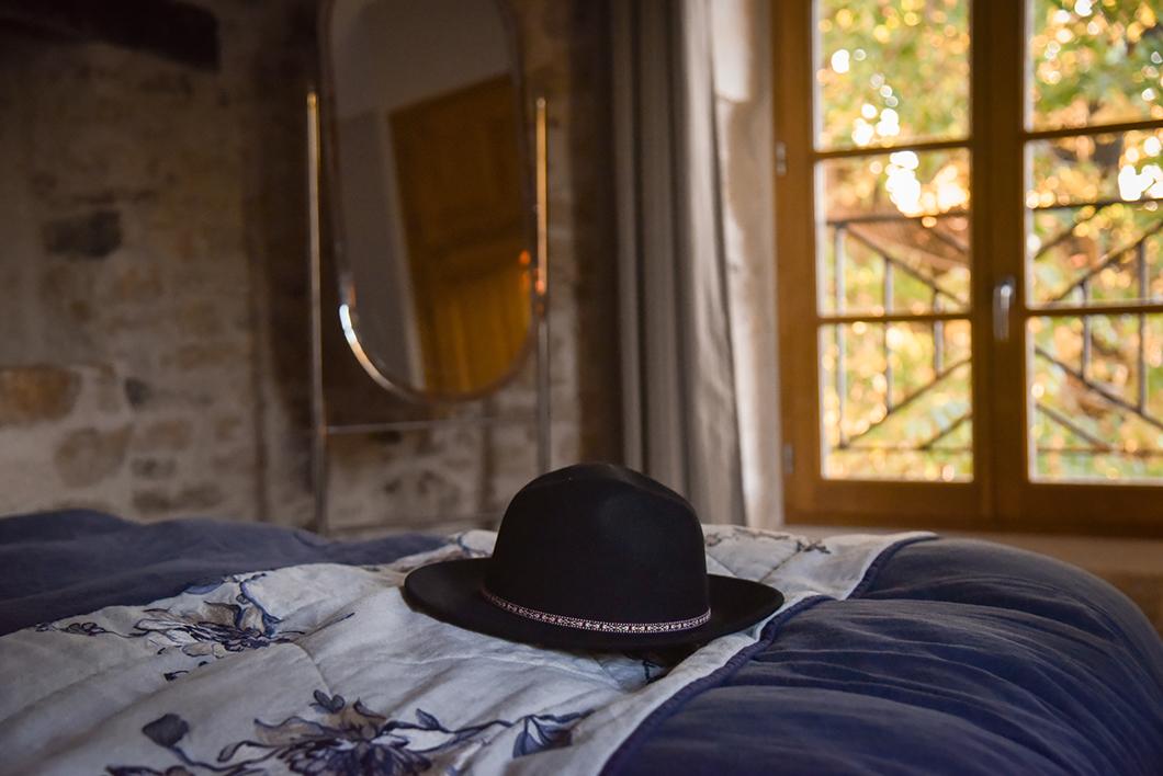 Notre chambre au Domaine de Gressac