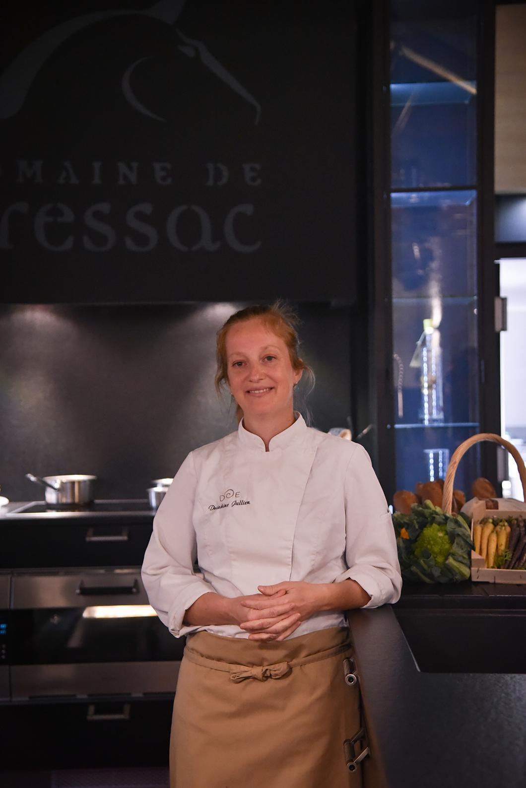 Cours de cuisine avec Delphine Jullien