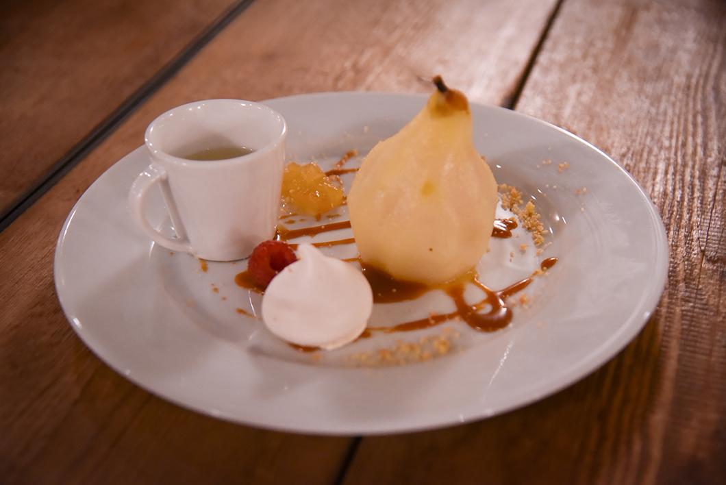 Dessert du cours de cuisine