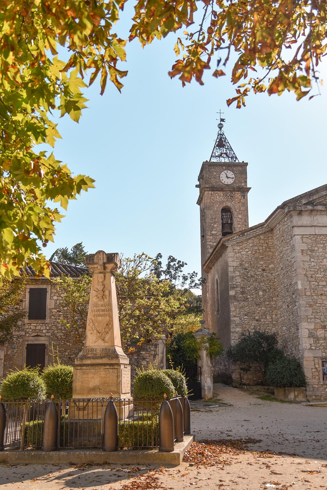 Montclus, l'un des plus beaux villages de France