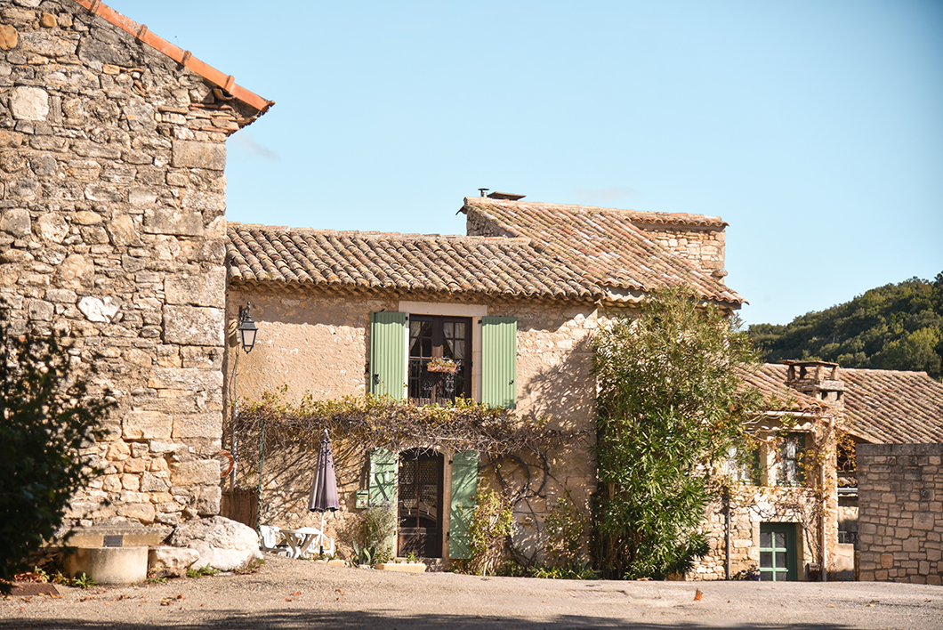 Montclus en Provence Occitane