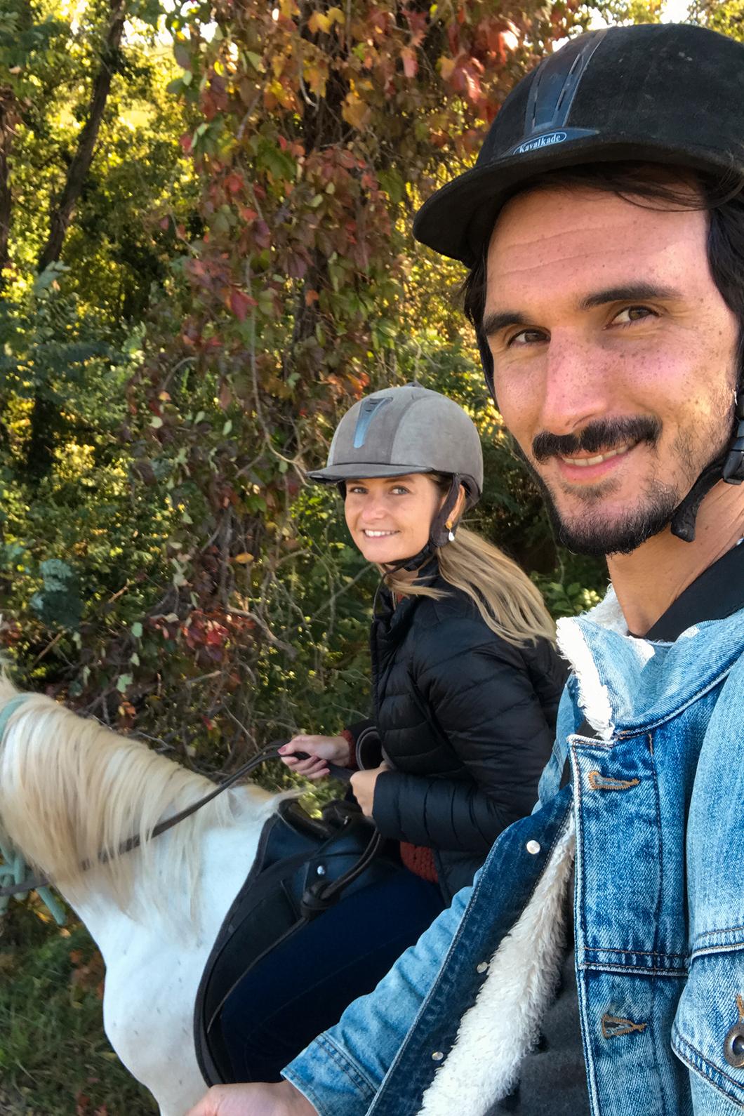 Notre programme d'un week end en Provence Occitane : balade à cheval, à vélo, randonnée