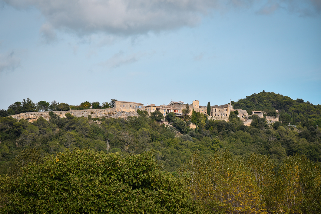 Visite du village de Cornillon