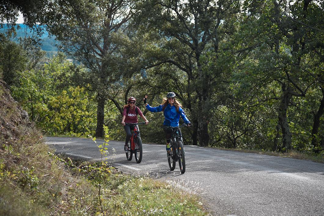 Balade à vélo en Provence Occitane