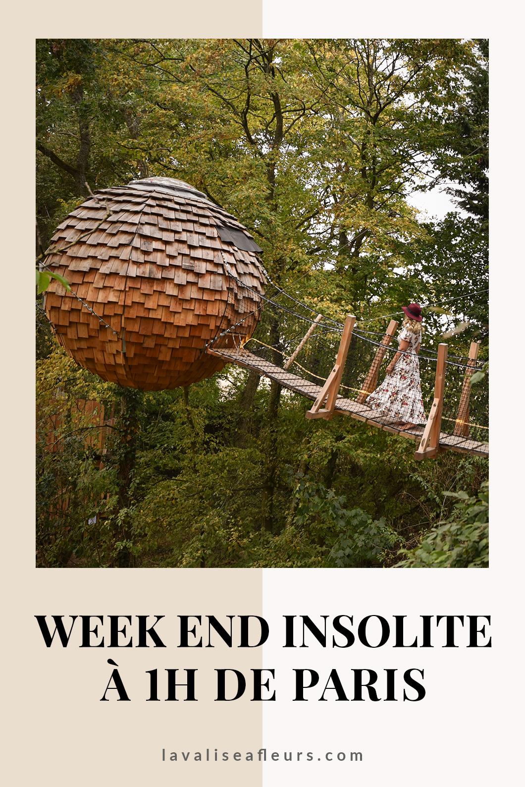 Week end insolite à 1h de Paris dans une cabane dans les arbres