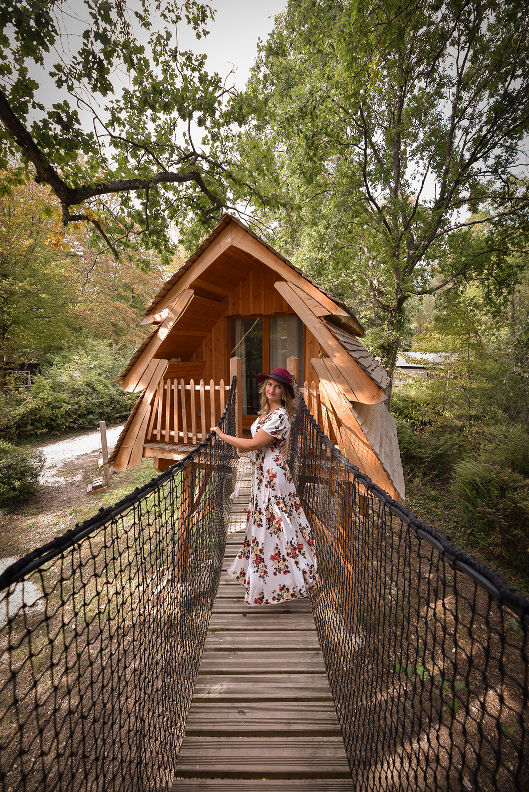 Week end dans une cabane insolite au Bois de Rosoy