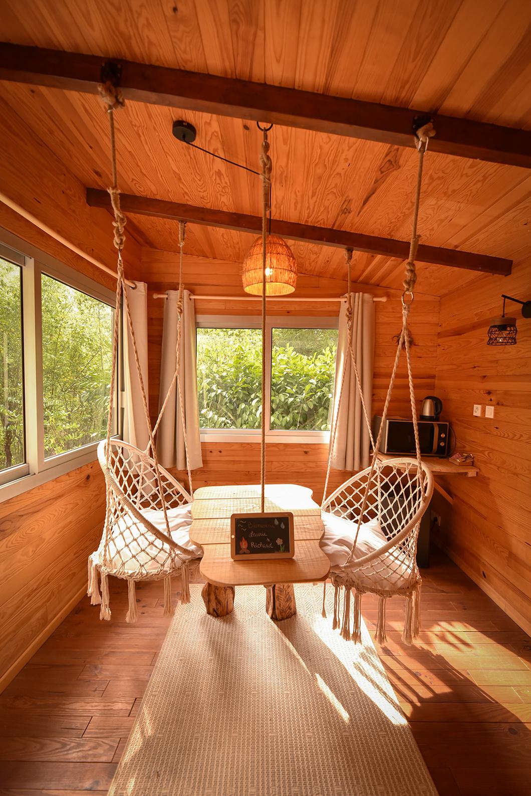 Dormir dans une cabane dans le Bois de Rosoy à proximité de Paris