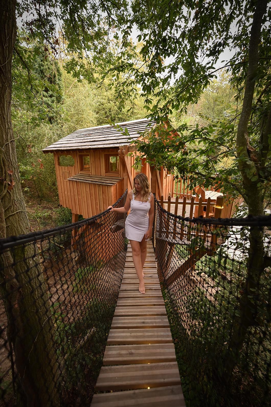 Une nuit au Bois de Rosoy dans une cabane insolite