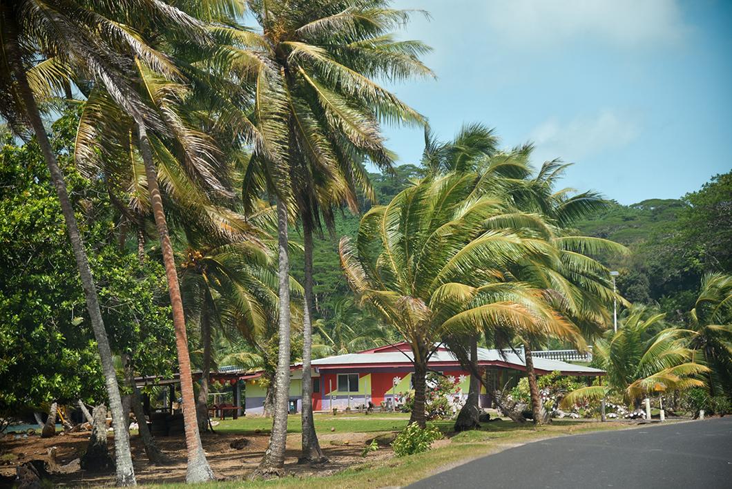 Les routes de Huahine