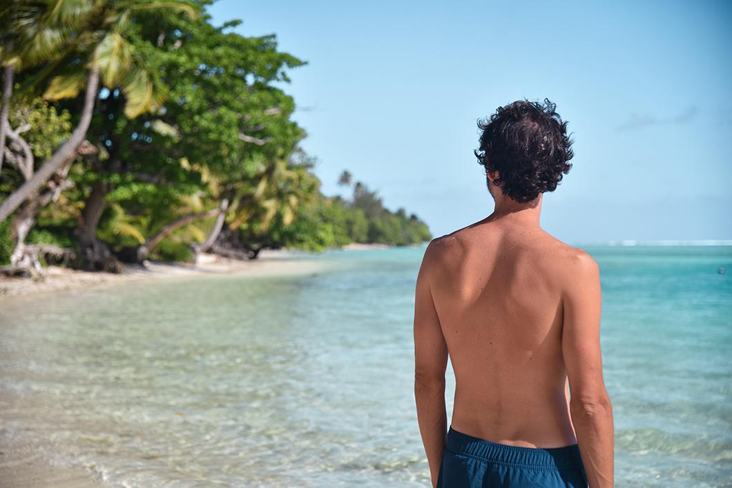 Chiller sur les plages de Huahine