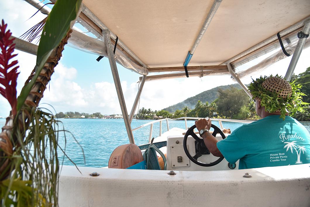 Découvrir le lagon de Huahine avec Huahine Nautique