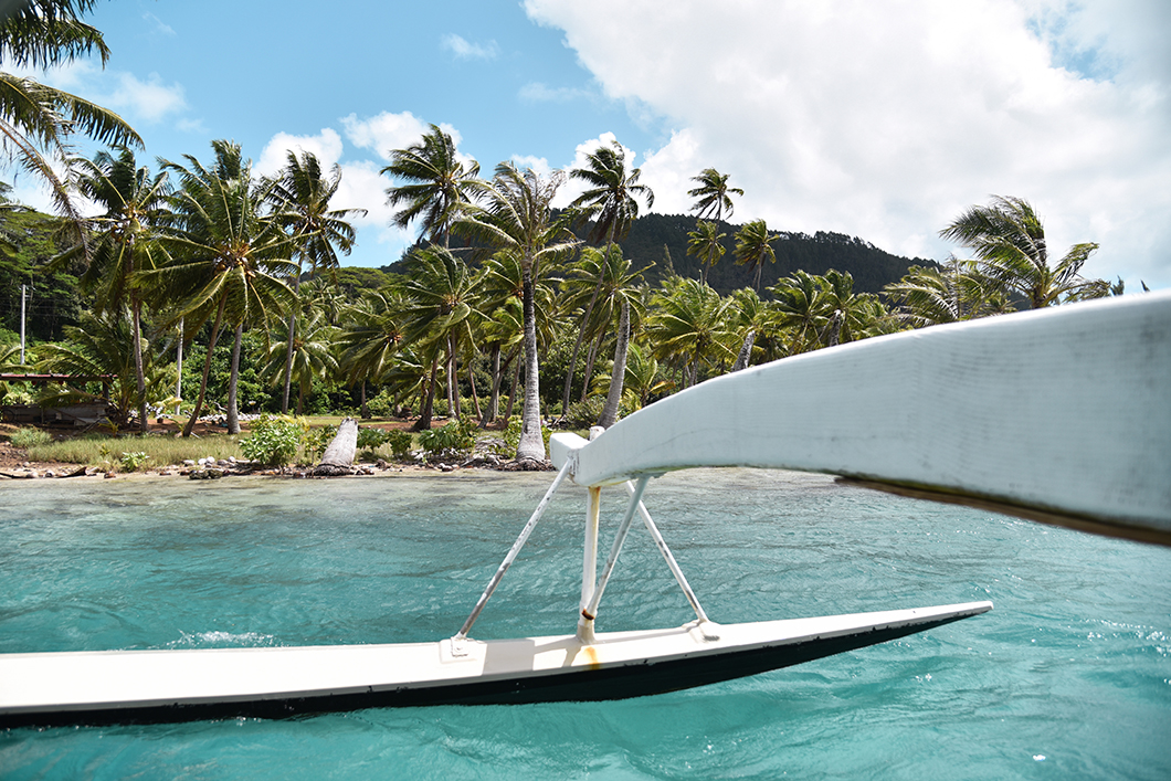 Visiter le lagon de Huahine en bateau avec Huahine Nautique