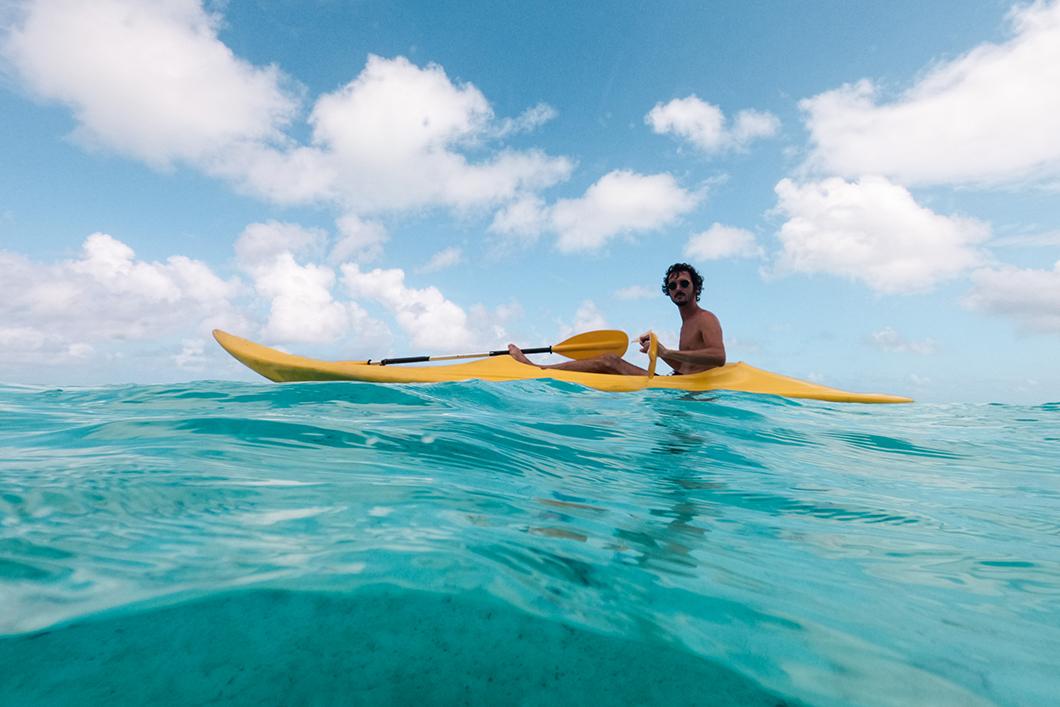 Que faire à Huahine ? Faire du kayak
