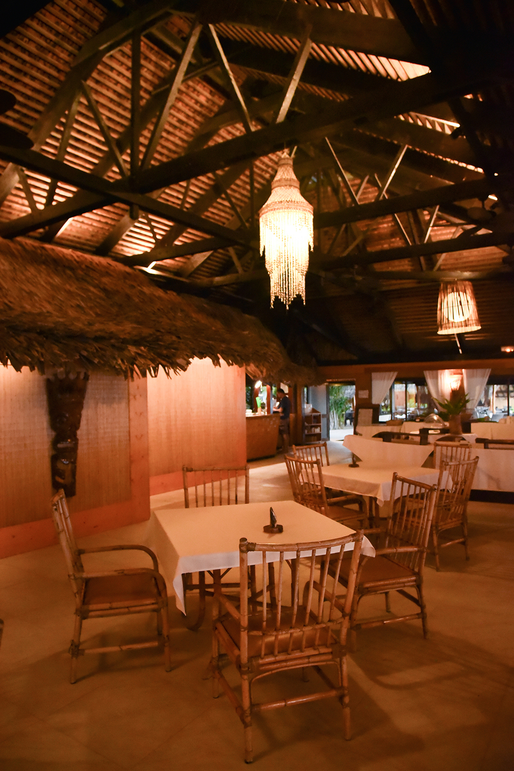 Le Mahana, super restaurant de Huahine