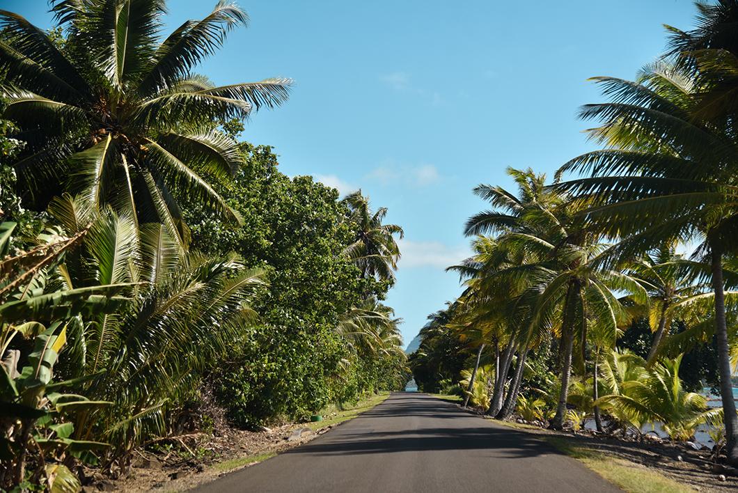 Faire le tour de l'île de Huahine en voiture