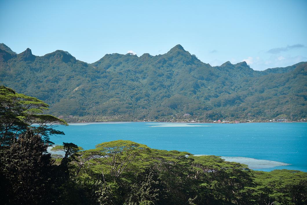Belvédère sur la Baie de Maroe à Huahine