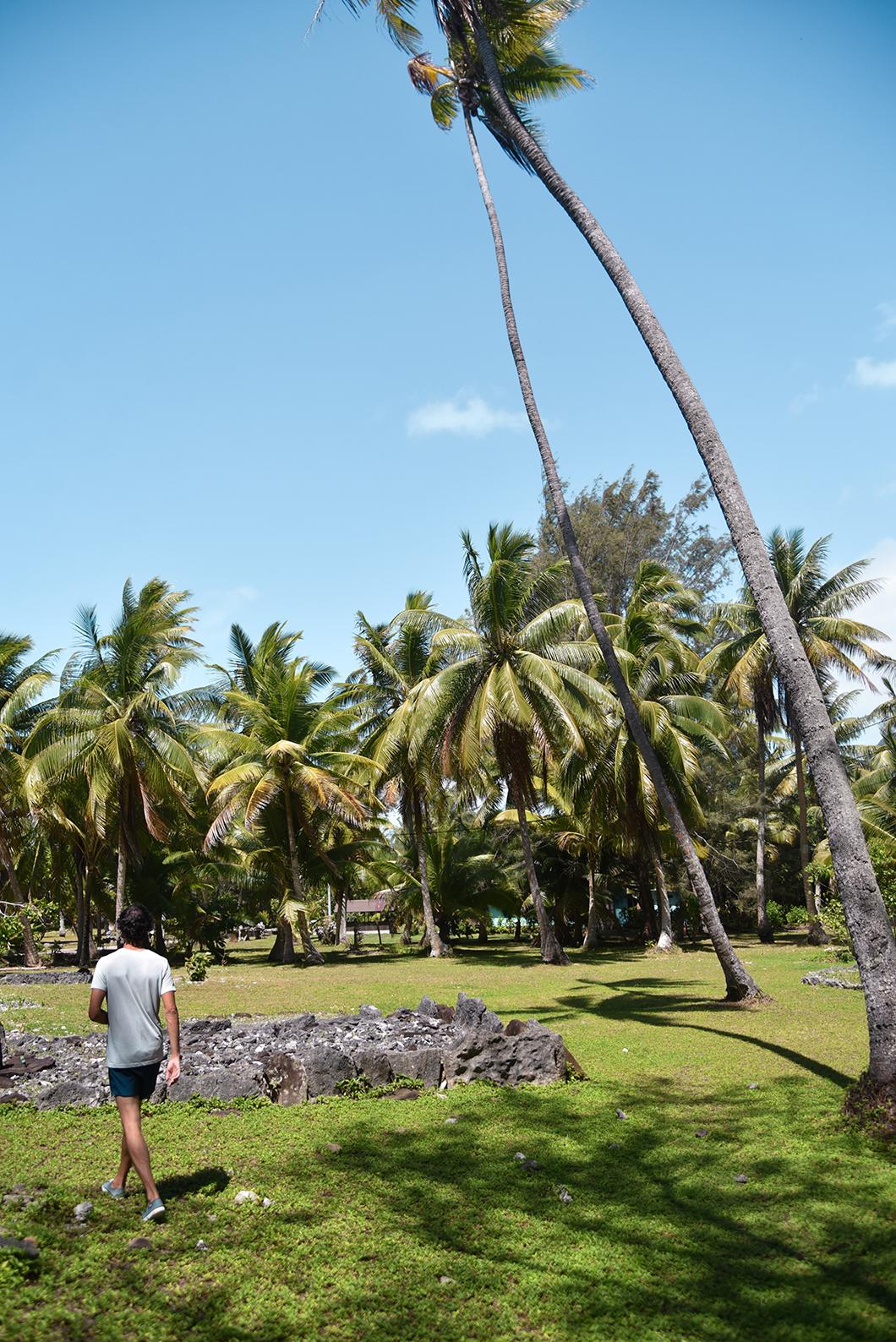 Que faire à Huahine ? Visiter le Marae Manunu
