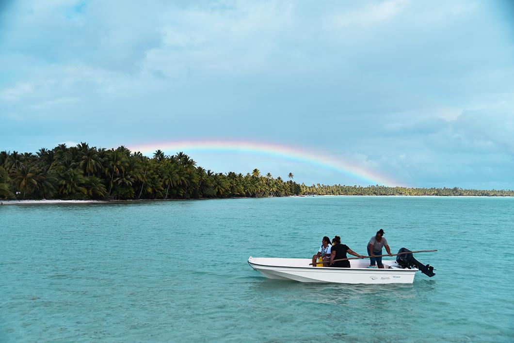 Maupiti, île sauvage de l'Archipel de la Société