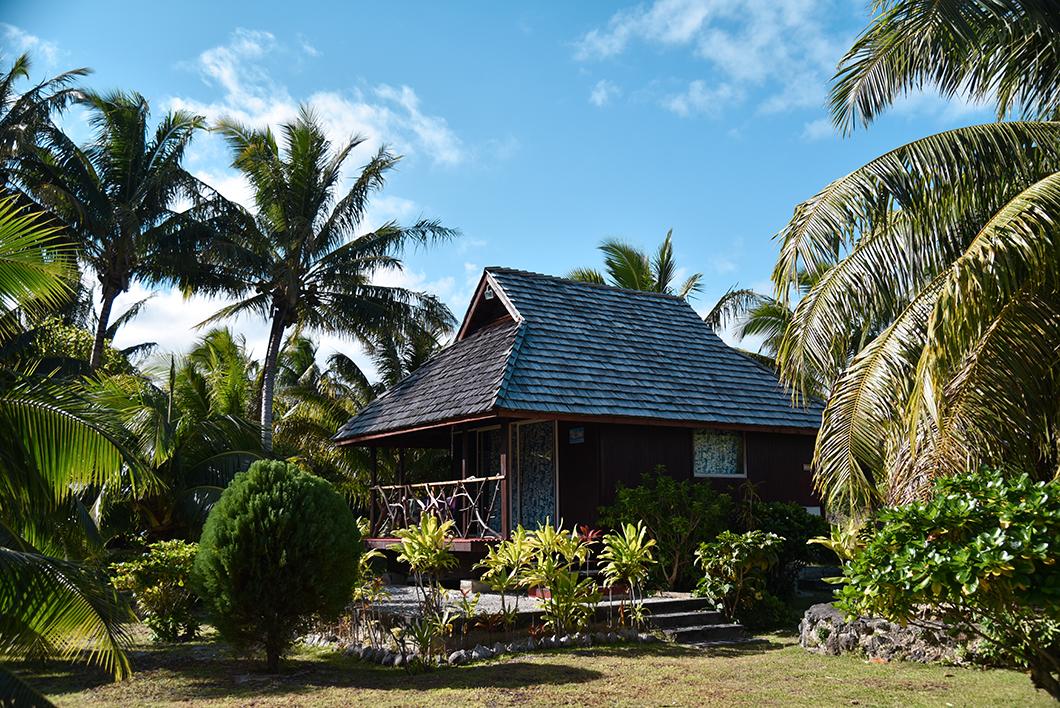 Notre bungalow à Maupiti