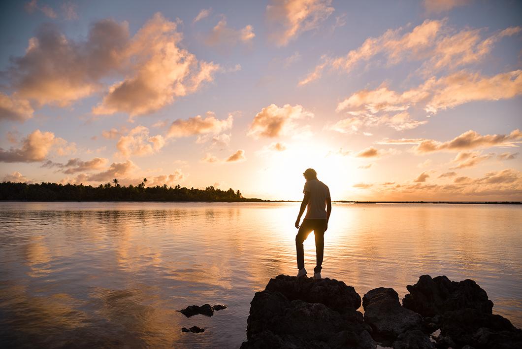 Où aller à Maupiti pour le coucher de soleil ?