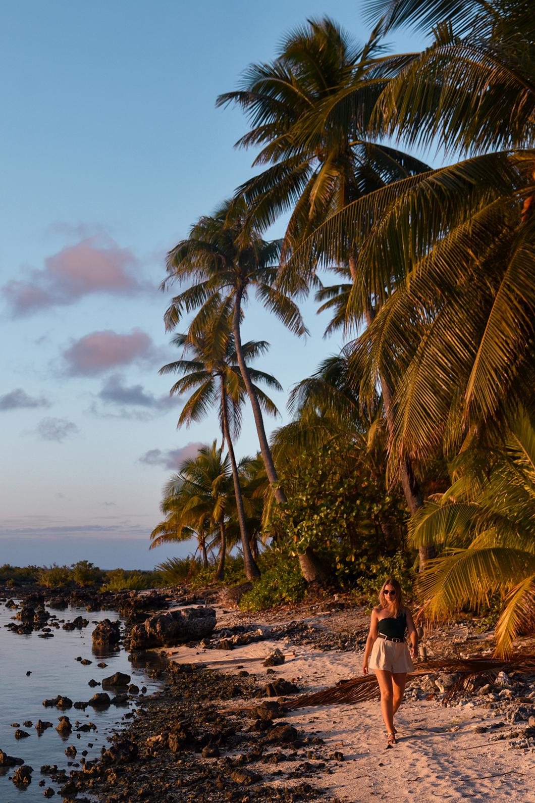 Les plus beaux spots pour le coucher de soleil à Maupiti