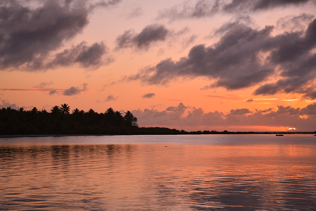 Nos endroits préférés pour le coucher de soleil à Maupiti