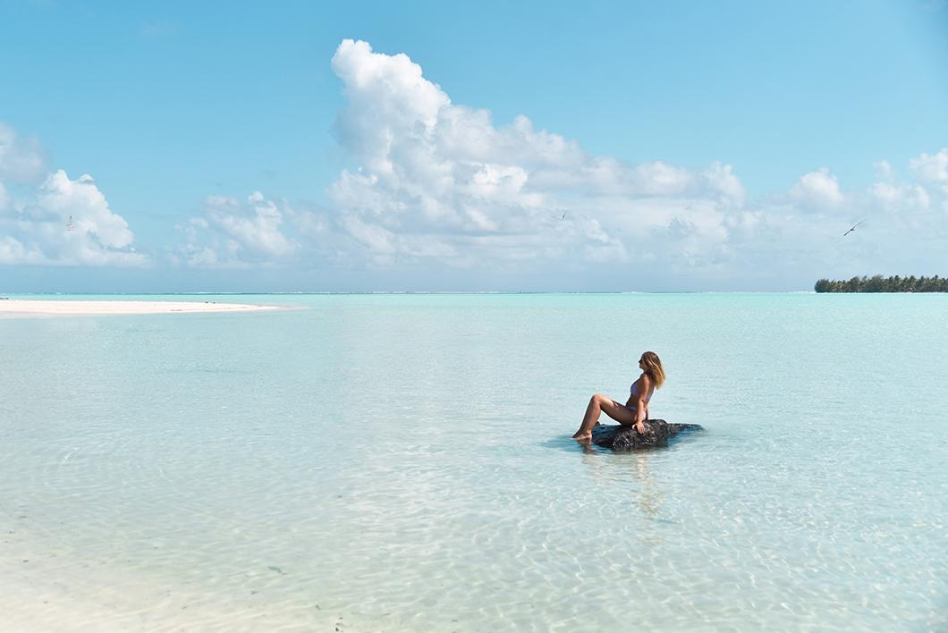 Terei'a, la plus jolie plage de Maupiti