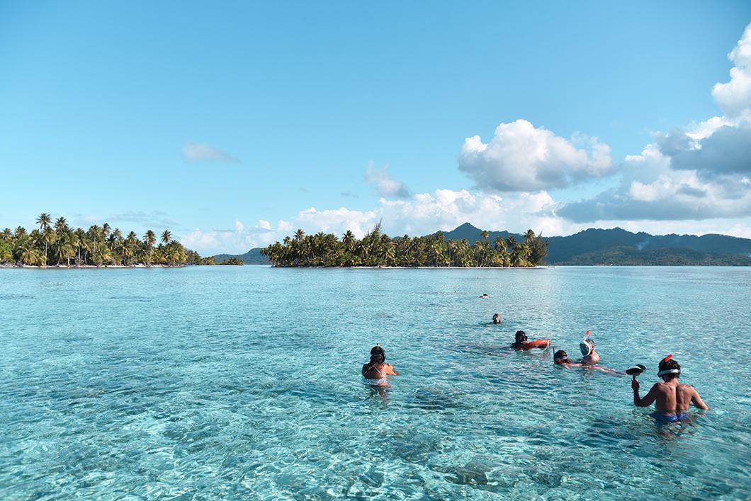 Que faire à Taha'a ? Faire du Snorkeling