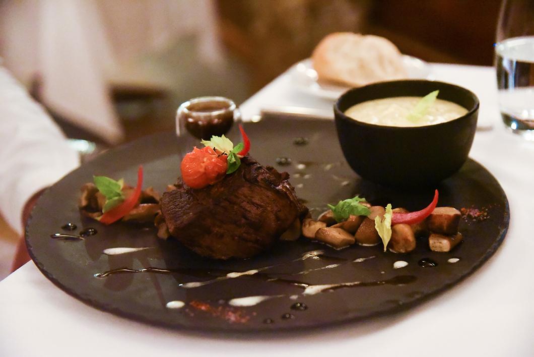 Le vanille, restaurant du Taha'a Island Resort and Spa
