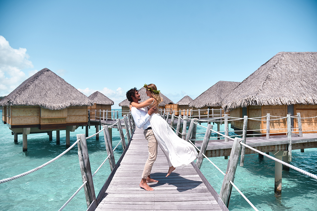 Taha'a Island Resort and Spa, hôtel romantique en Polynésie Française