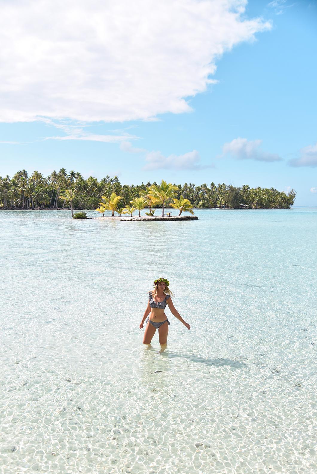 L'île en forme de coeur au Taha'a Island Resort and Spa