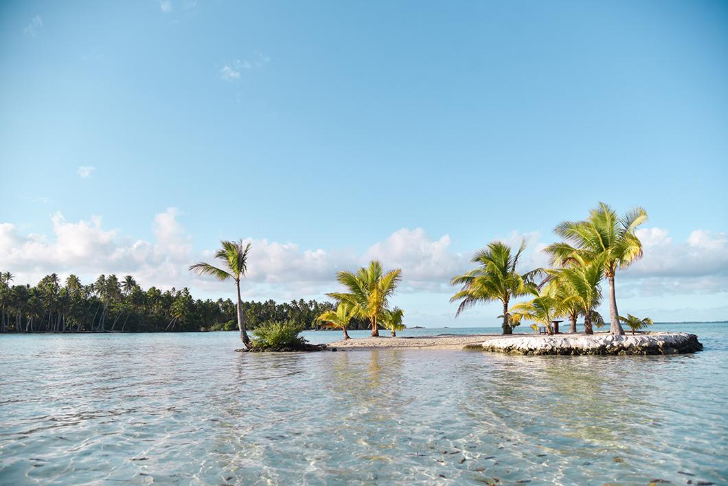 L'île en forme de coeur, l'un des plus beau spot de Taha'a