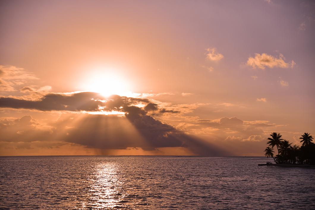 Meilleurs endroits pour le coucher de soleil à Taha'a