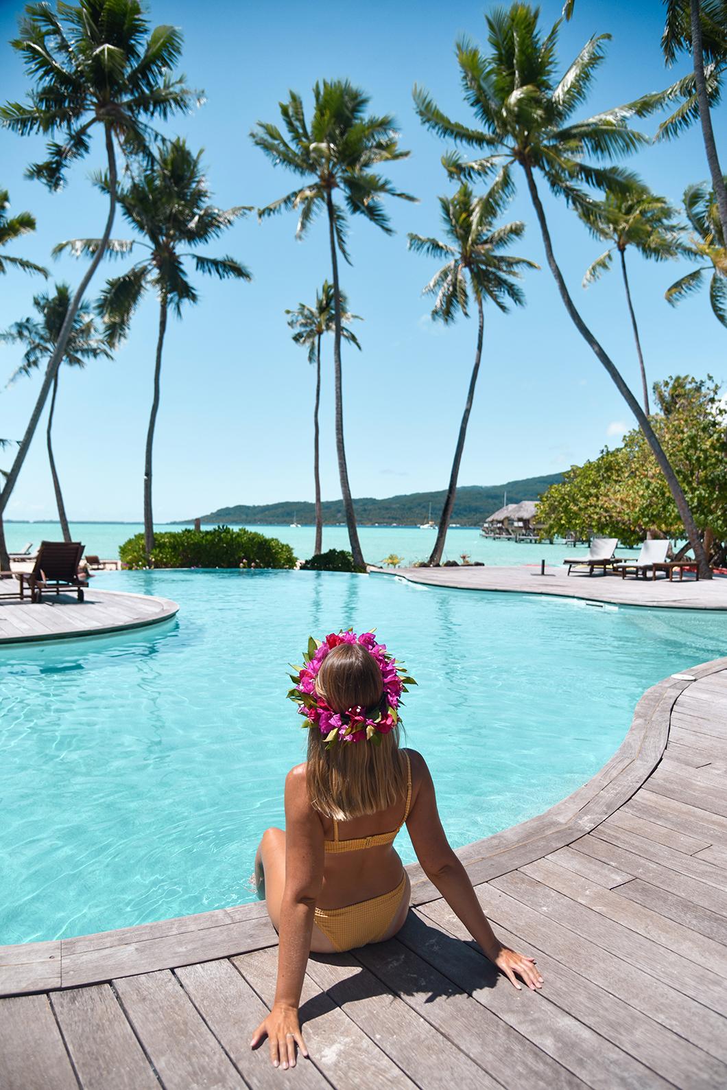 La piscine du Taha'a Island Resort and Spa