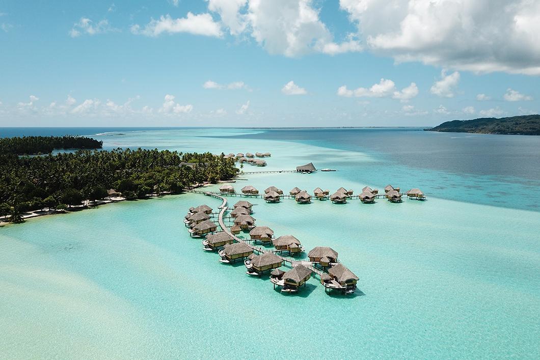 Taha'a Island Resort and Spa, hôtel de luxe à Taha'a