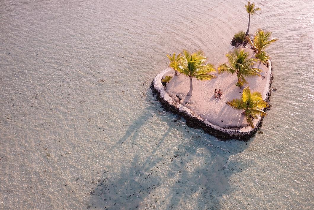Voyage de noce en Polynésie Française à Taha'a