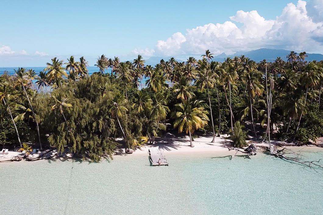 Journée en bateau à Taha'a, l'île de la vanille