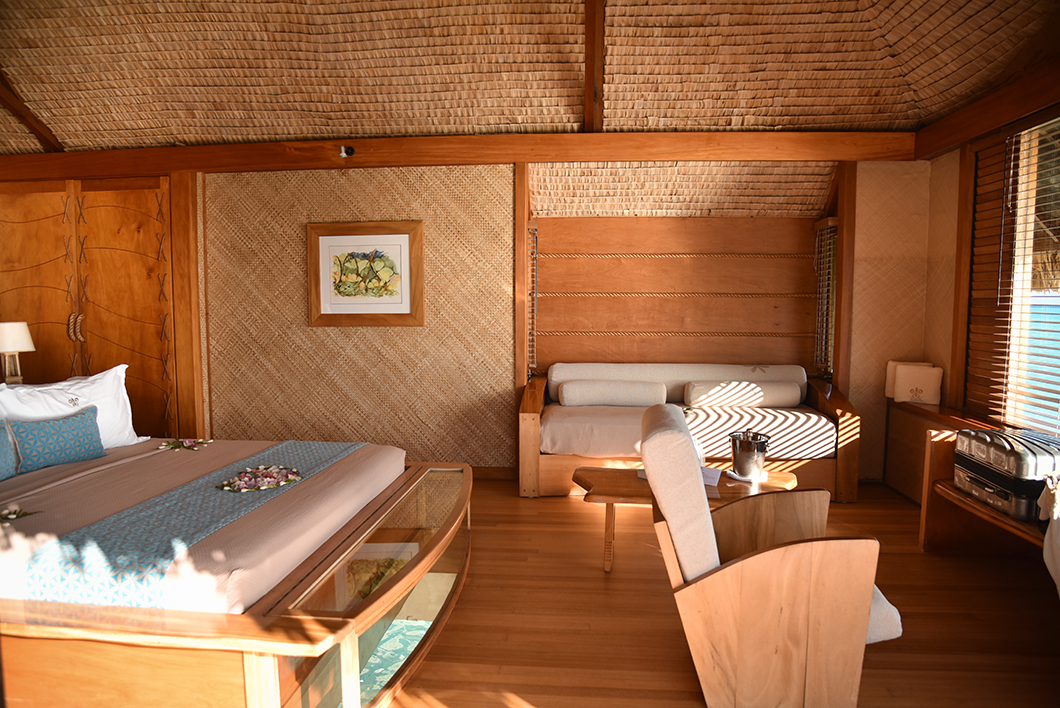 Notre chambre au Taha'a Island Resort and Spa