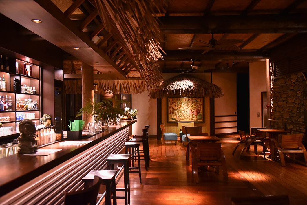 Soirée à l'hôtel Taha'a Island Resort and Spa