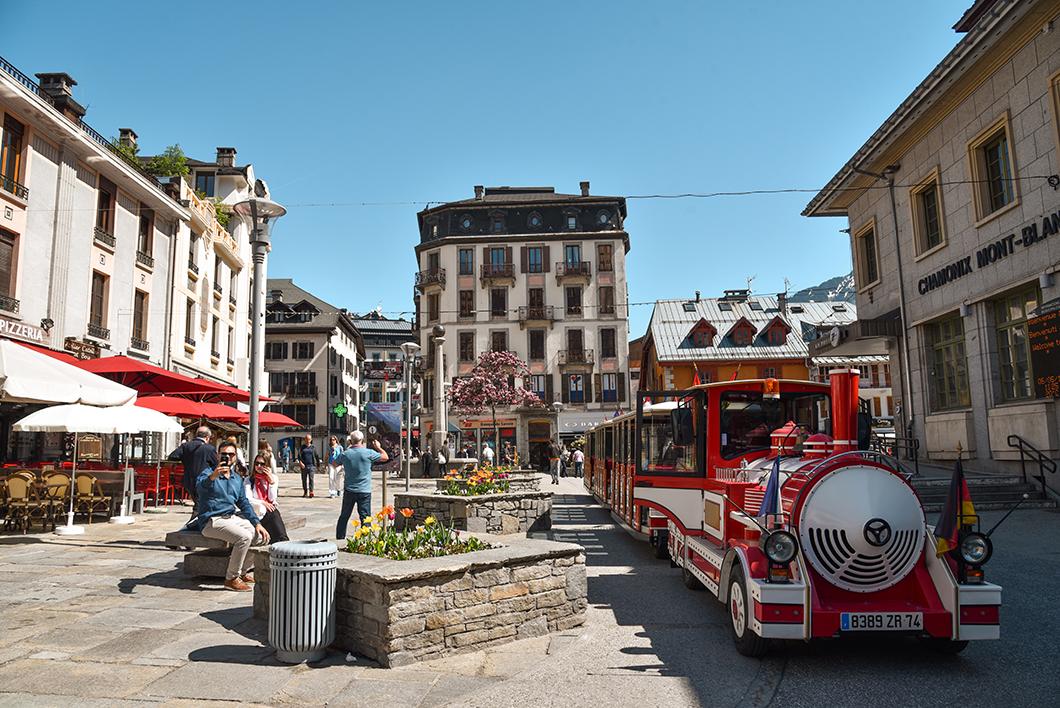 Découvrir le centre-ville de Chamonix