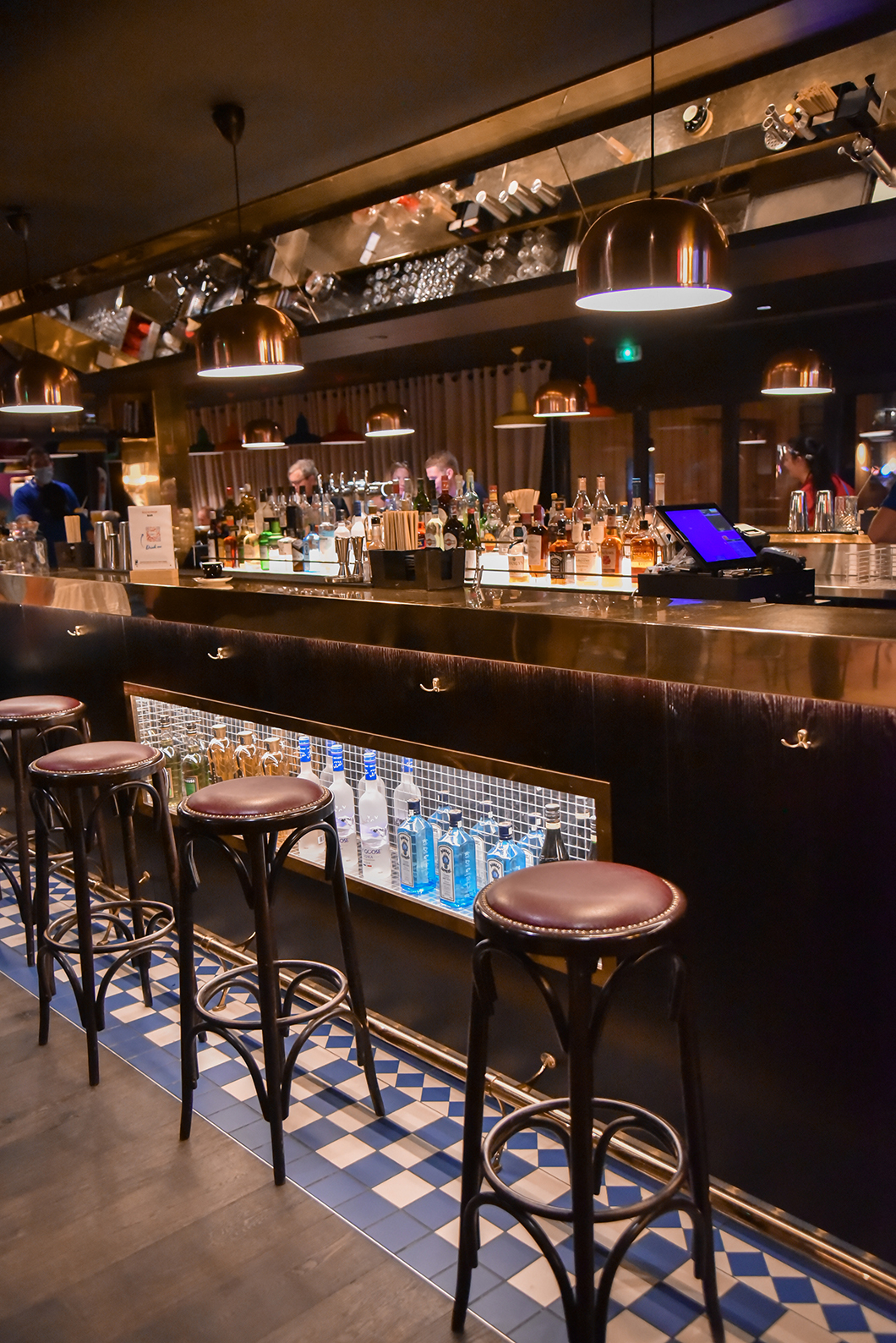 Le bar à cocktail du Rocky Pop