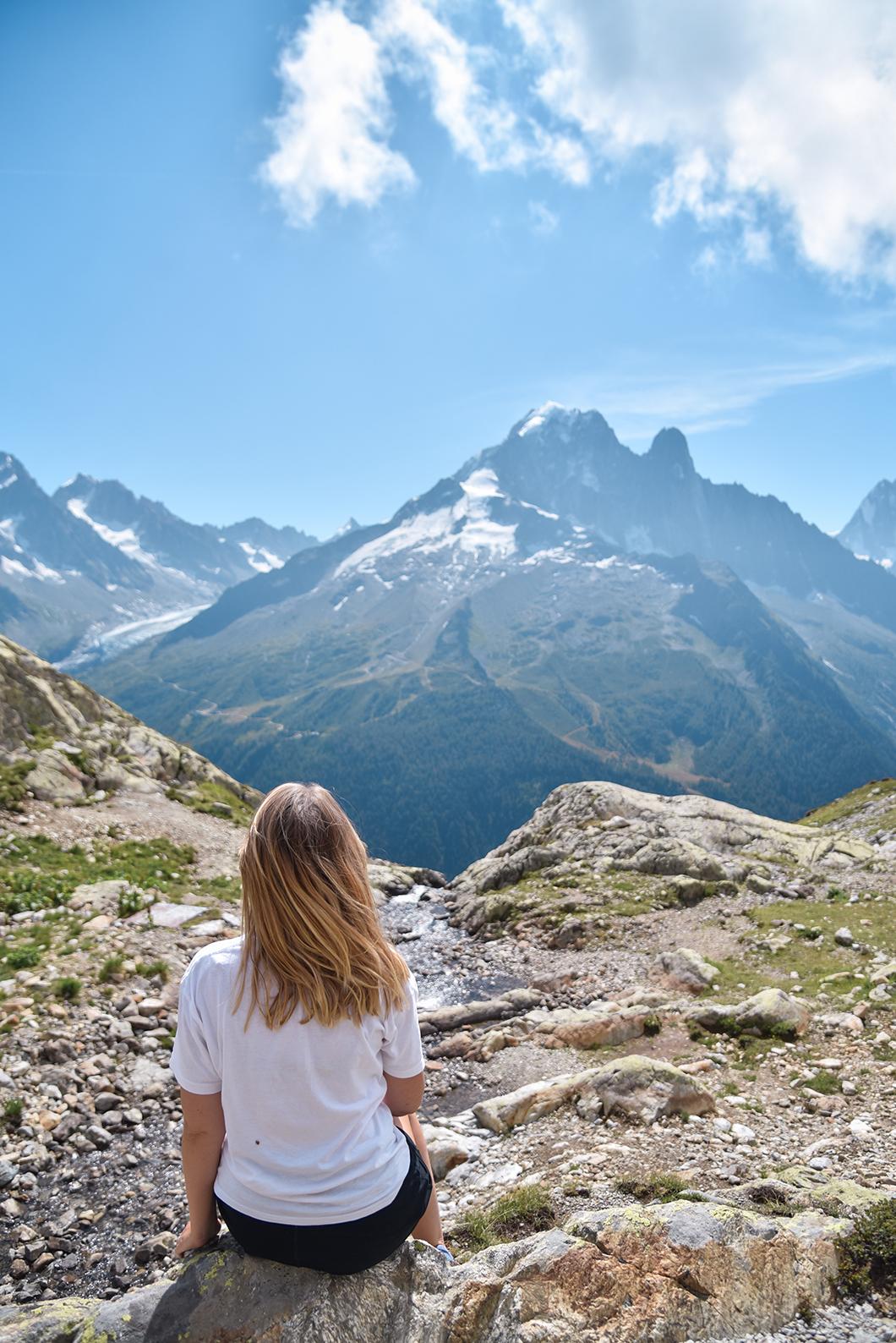 Randonnée au Lac Blanc, activité à faire à Chamonix