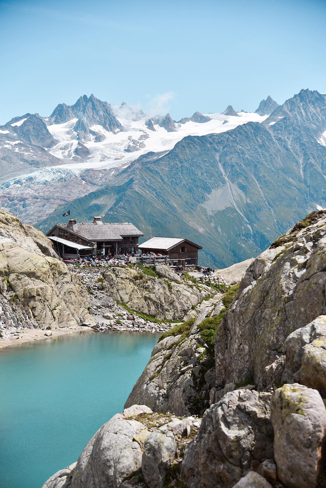 Vacances à la montagne à Chamonix