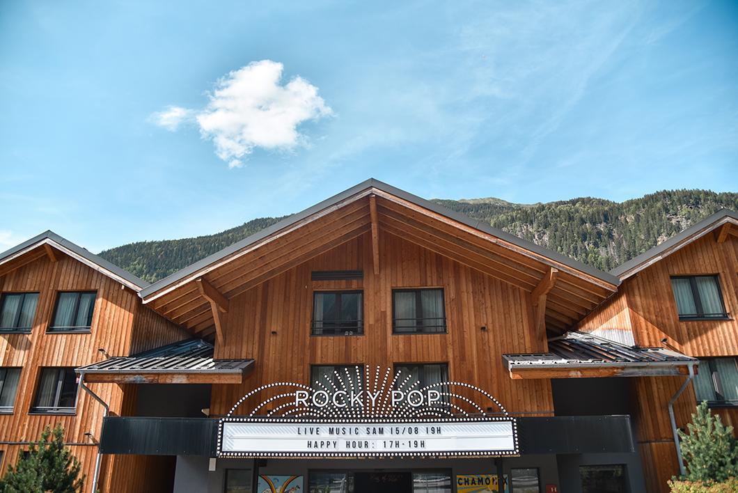 Rocky Pop Hôtel, top des hôtels à Chamonix
