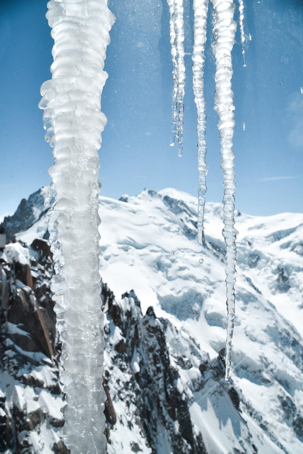 Observer le Mont Blanc depuis l'Aiguille du Midi