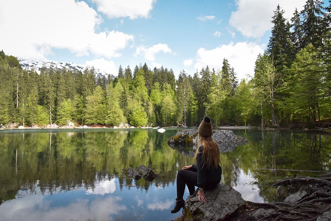 Aller voir le Lac Vert, une semaine à Chamonix